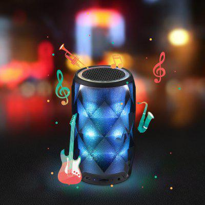Night Light Touch Control Bluetooth HiFi Speaker with 7 LED Multi-Colored
