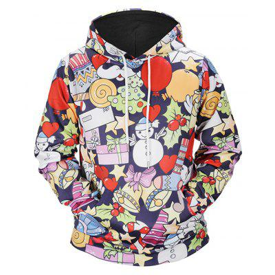 Mr 1991 INC Miss Go Fashion Cartoon Christmas Hoodie
