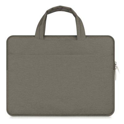 15.4-inch Fashion Portable Waterproof Laptop Protective BagLaptop Bags<br>15.4-inch Fashion Portable Waterproof Laptop Protective Bag<br><br>Package Contents: 1 x Laptop Protective Bag<br>Package size (L x W x H): 40.00 x 29.00 x 4.00 cm / 15.75 x 11.42 x 1.57 inches<br>Package weight: 0.3450 kg<br>Product size (L x W x H): 39.00 x 28.00 x 2.00 cm / 15.35 x 11.02 x 0.79 inches<br>Product weight: 0.3340 kg<br>Size: 15.4 inch
