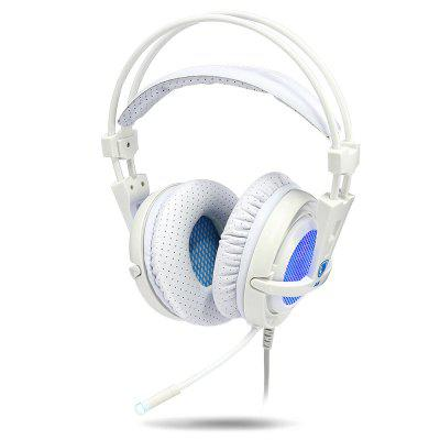Sades A6 7.1 Virtual Surround Sound PC USB Gaming Headset в магазине GearBest