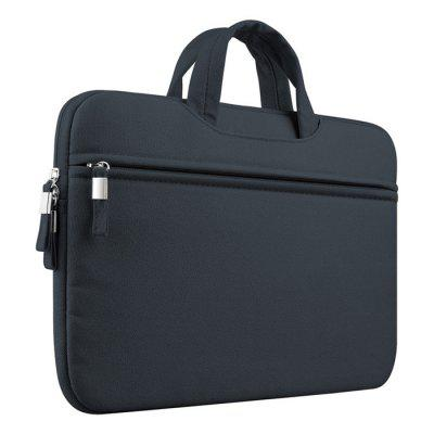 Portable Waterproof Zipper Laptop Protective BagLaptop Bags<br>Portable Waterproof Zipper Laptop Protective Bag<br><br>Package Contents: 1 x Laptop Protective Bag<br>Package size (L x W x H): 33.00 x 24.00 x 4.00 cm / 12.99 x 9.45 x 1.57 inches<br>Package weight: 0.2590 kg<br>Product weight: 0.2490 kg<br>Size: 12 inch