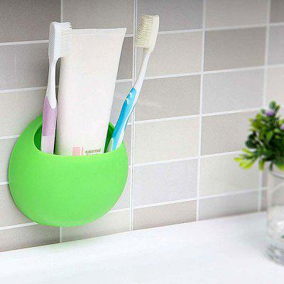 Multifunctional Toothbrush / Spoon / Fork Holder with Sucker