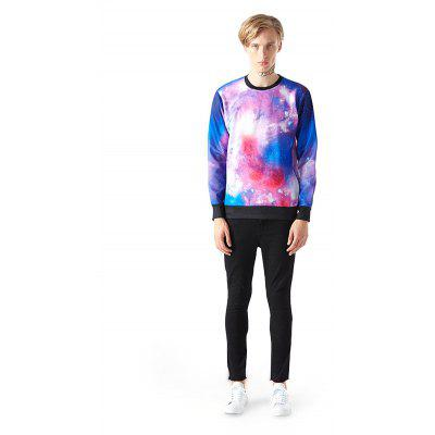Mr 1991 INC Miss Go Fashion Colorful Motif Sweatshirt