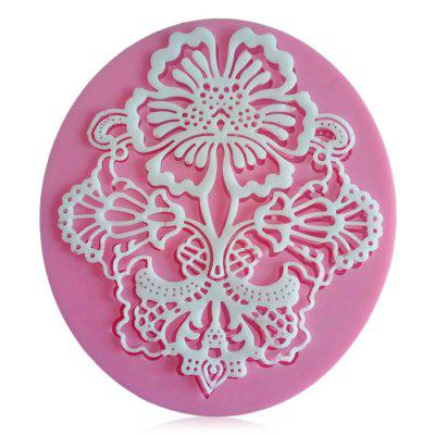Facemile Lace Style Silicone Cake Decoration Molds