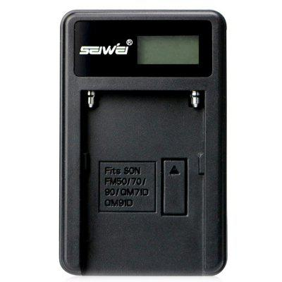 SEIWEI NP - FM50 USB LCD Battery Charger