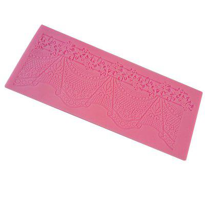 facemile Lace Pattern Cake Candy Chocolate Silicone Mold