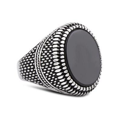 Stylish Stainless Steel Vintage Men Ring
