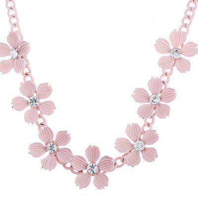 Stylish Exquisite Flower Women Necklace