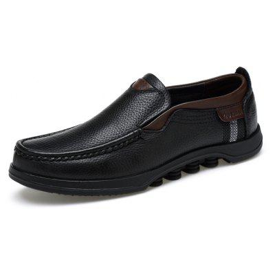 Men Super-soft Breathable Casual Oxford LoafersMen's Oxford<br>Men Super-soft Breathable Casual Oxford Loafers<br><br>Closure Type: Slip-On<br>Contents: 1 x Pair of Shoes, 1 x Box<br>Decoration: Split Joint<br>Function: Slip Resistant<br>Lining Material: Pigskin<br>Materials: Rubber, Pigskin, Leather<br>Occasion: Tea Party, Shopping, Party, Office, Casual, Daily, Holiday<br>Outsole Material: Rubber<br>Package Size ( L x W x H ): 32.00 x 20.00 x 13.00 cm / 12.6 x 7.87 x 5.12 inches<br>Package weight: 1.1000 kg<br>Pattern Type: Solid<br>Product weight: 0.9500 kg<br>Seasons: Autumn,Spring<br>Style: Modern, Leisure, Fashion, Comfortable, Casual, Business<br>Toe Shape: Round Toe<br>Type: Flat Shoes<br>Upper Material: Leather
