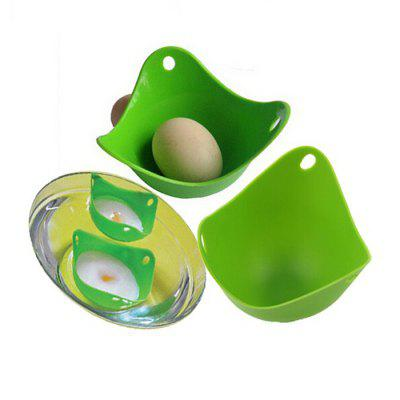 4PCS Silicone Egg Poacher Cook Poach Pod