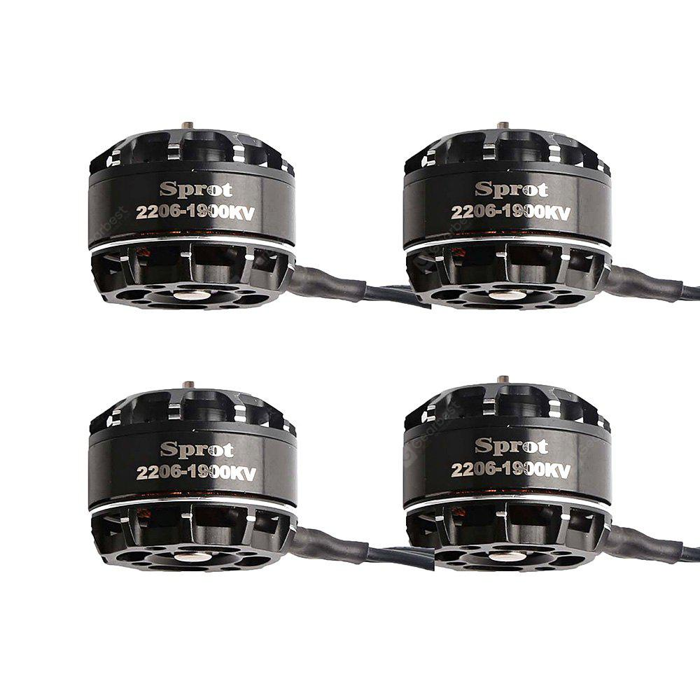 2206 1900KV Brushless Motor CW / CCW 4pcs