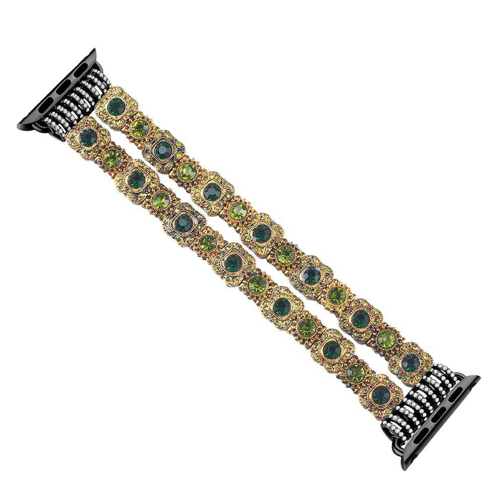 Double Row Diamond Watch Band for iWatch 42MM