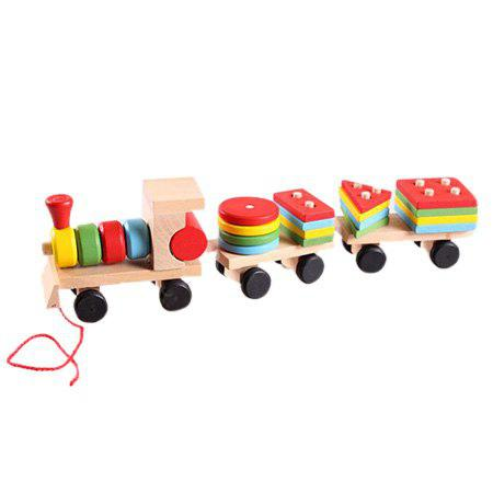 Early Education Toy Train Building Block for Children