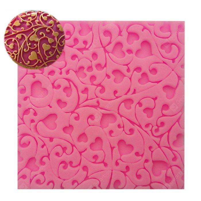Facemile Creative Heart Style Silicone Chocolate Cake Mold