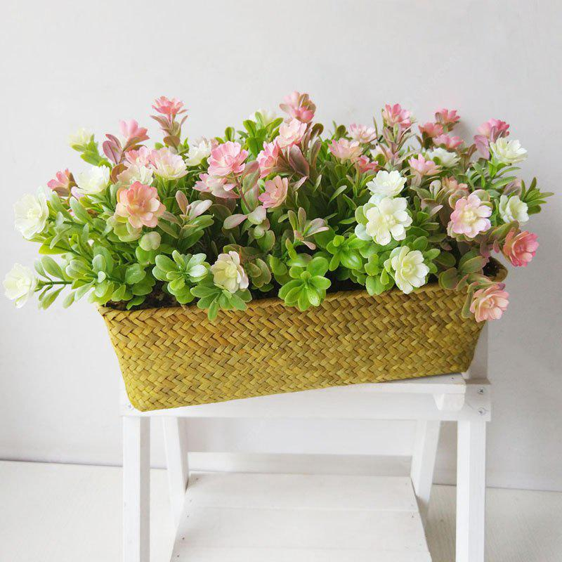 LmDec Vivid Artificial Simulation Flower with Basket