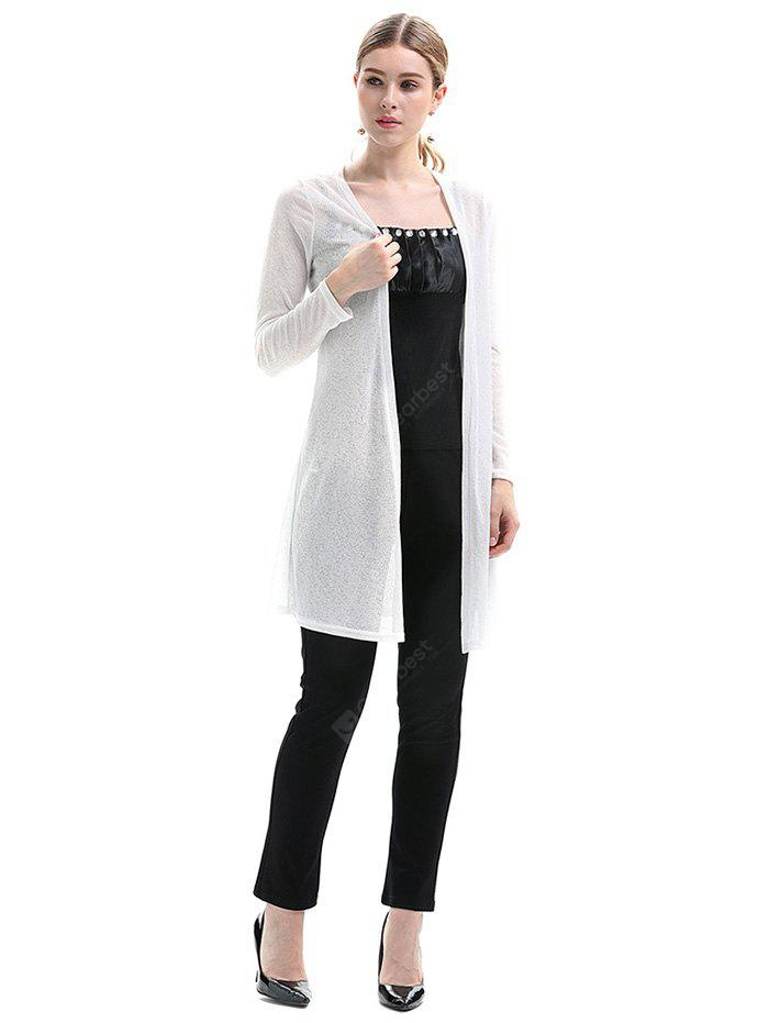 Solid Color Long Thin Sun Protective Cardigan