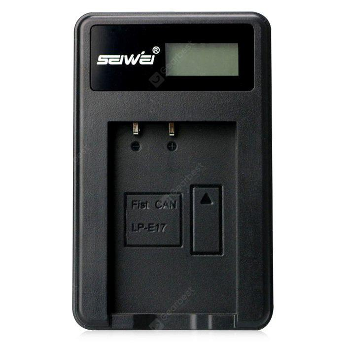 SEIWEI LP – E17 USB Rapid Battery Charger with LCD Screen