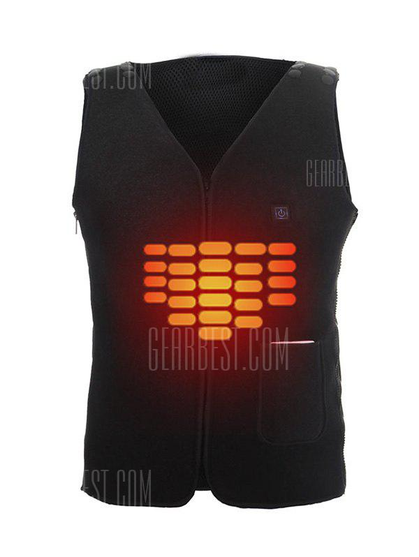 Warm Solid Color Electric Heated Vest