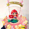 Cartoon Mermaid Princess Toy for Decoration - COLORMIX