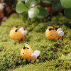 Cartoon Resin Bee for Moss Micro Landscape Decoration 1pc - COLORMIX