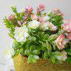 LmDec Vivid Artificial Simulation Flower with Basket - COLORFUL