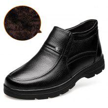 MUHUISEN Business High-top Cotton-padded Men Shoes