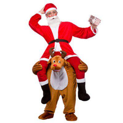 Christmas Ride on Riding Shoulder Costume Novelty Outfit