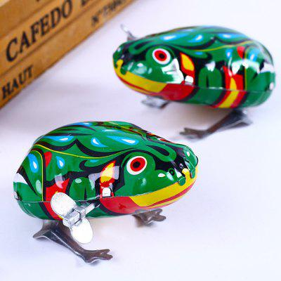 Clockwork Toy Classic Jump Frog 1pc