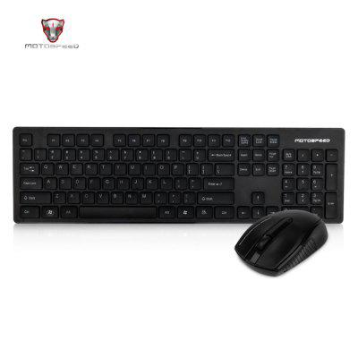 Motospeed 2.4G Wireless Keyboard And Mouse Combo