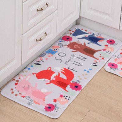 Creative Blending Floor Mat Decorative Carpet 1PC