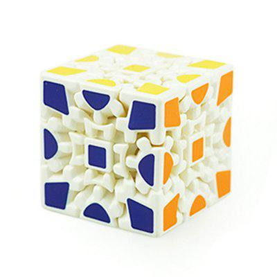 3 x 3 x 3 Gear Type Magic Cube Finger Puzzle Toy 1pc