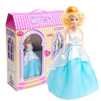 Intelligent Music Dancing Princess Doll with Light