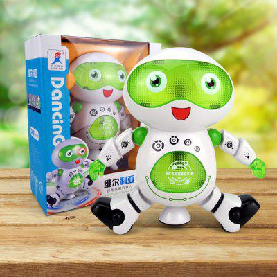 Music Dance 360 Degree Rotation Electric Robot Toy