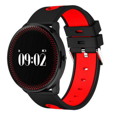 Cf007 Waterproof Smart Fitness Bracelet Tracker Heart Rate Blood Pressure Monitor Passometer SmartbandSmart Watches<br>Cf007 Waterproof Smart Fitness Bracelet Tracker Heart Rate Blood Pressure Monitor Passometer Smartband<br><br>Alert type: Vibration<br>Available Color: Blue,Gray,Red,Yellow<br>Band material: Silicone<br>Battery  Capacity: 80mAh<br>Bluetooth Version: Bluetooth 4.0<br>Case material: Zinc Alloy<br>Compatability: Android 4.3 / iOS 8.0 and above systems<br>Compatible OS: IOS, Android<br>Functions: Measurement of heart rate, Notification of app, Pedometer, Sedentary reminder, Sleep management, SMS Reminding, Steps counting, Temperature Display, Time, Incoming calls show, Distance recording, Date, Camera remote control, Calories burned measuring, Call reminder, Alarm Clock<br>Language: English,Simplified Chinese,Traditional Chinese<br>Notification type: Facebook, WhatsApp, Twitter<br>Operating mode: Touch Screen, Press button<br>Package Contents: 1 x Smartband, 1 x Charging Cable, 1 x User Manual<br>Package size (L x W x H): 15.00 x 9.50 x 4.00 cm / 5.91 x 3.74 x 1.57 inches<br>Package weight: 0.1838 kg<br>People: Female table,Male table<br>Product weight: 0.0560 kg<br>Screen type: LCD<br>Shape of the dial: Round<br>Standby time: 15 days<br>Type of battery: Polymer lithium battery<br>Waterproof: Yes