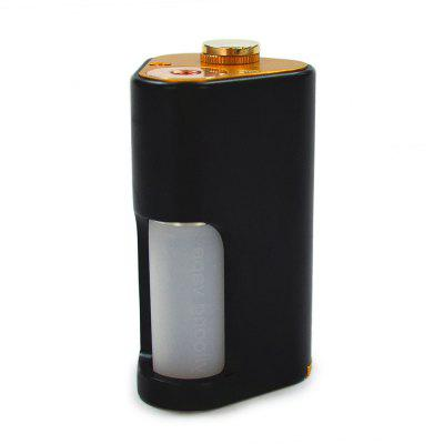 Buy BLACK YILOONG BF Squonker Mechanical Box Mod for $39.71 in GearBest store