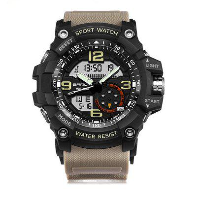 SANDA 759 Herren Luminous Sports Digital Quarzuhr