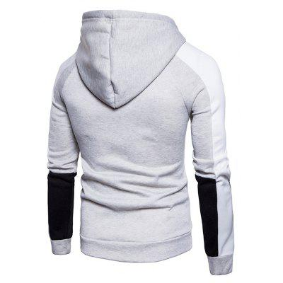 Simple Splicing Hoodie JacketMens Hoodies &amp; Sweatshirts<br>Simple Splicing Hoodie Jacket<br><br>Closure Type: Zipper<br>Clothes Type: Hoodie Jacket<br>Material: Cotton, Polyester<br>Occasion: Daily Use<br>Package Contents: 1 x Hoodie Jacket<br>Package size: 40.00 x 30.00 x 4.00 cm / 15.75 x 11.81 x 1.57 inches<br>Package weight: 0.5500 kg<br>Product weight: 0.5300 kg<br>Style: Casual<br>Thickness: Regular