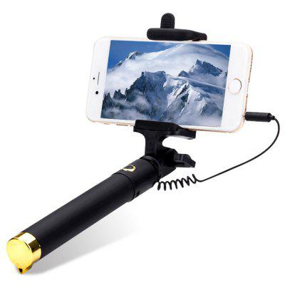 3.5mm Jack Wired Selfie Stick Handheld