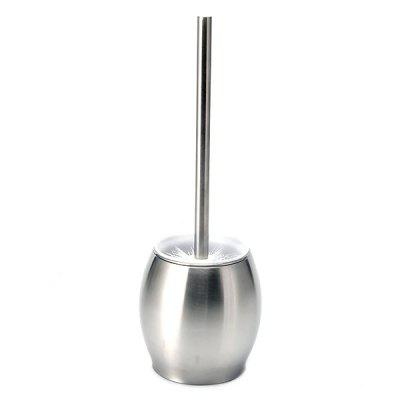 Stainless Steel Toilet Bowl Brush with Base