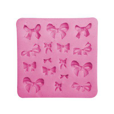 Facemile Bowknot Style Silicone Chocolate Cake Mold