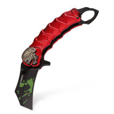 Outdoor Mini Portable EDC Folding Knife with Liner Lock