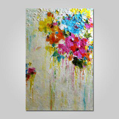 Mintura Canvas Oil Painting Abstract Hanging Wall Art