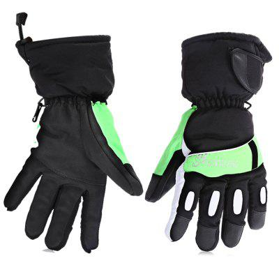 Pair of Unisex Full-finger Waterproof Warm-keeping Gloves