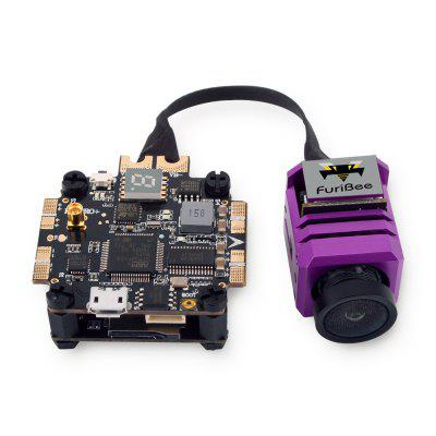 FuriBee F4 Flight Controller + 1080P DVR FPV Camera