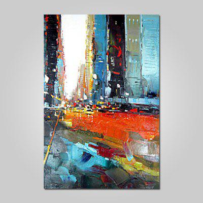 Mintura Modern Oil Painting Abstract Pattern Hanging Wall Art