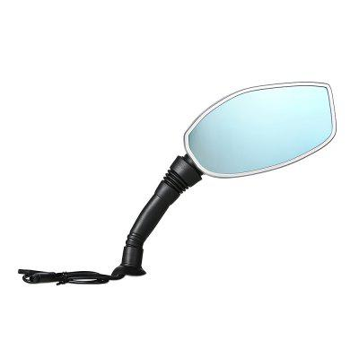 2.4 inch Motorcycle Rearview Mirror Twin Camera
