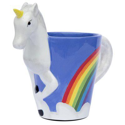 Ceramic 3D Unicorn Coffee Mug