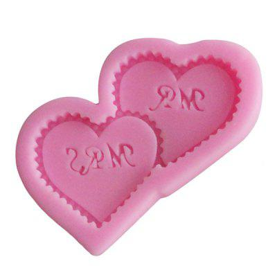 Facemile Heart Shape Cake Fondant DIY Silicone Mold 1pcBaking &amp; Pastry Tools<br>Facemile Heart Shape Cake Fondant DIY Silicone Mold 1pc<br><br>Material: Silicone<br>Package Contents: 1 x Mold<br>Package size (L x W x H): 11.00 x 10.00 x 3.00 cm / 4.33 x 3.94 x 1.18 inches<br>Package weight: 0.0420 kg<br>Product size (L x W x H): 9.50 x 8.00 x 0.90 cm / 3.74 x 3.15 x 0.35 inches<br>Product weight: 0.0400 kg<br>Type: Bakeware