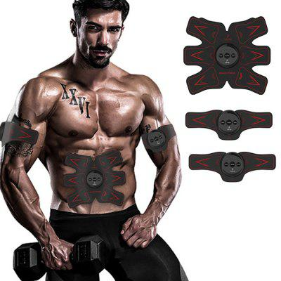 Buy Yome H2 Wireless Smart Electrical Muscle Training Gear BLACK for $50.43 in GearBest store