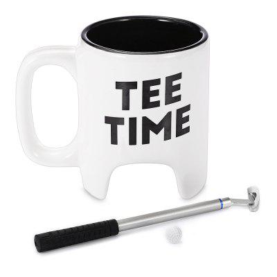 Creative Elegant Golf Mug Set Ceramic Milk Coffee Cup